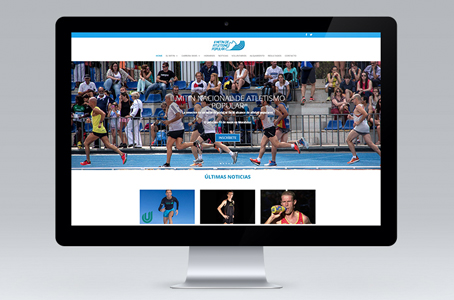 II MITIN DE ATLETISMO POPULAR (WEBSITE)